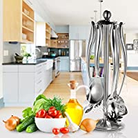 Nicehome 7PCS/set splendido solida durevole acciaio Essential utensile da cucina