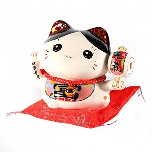 lachineuse Hucha de Gato japonés Maneki Neko Kawaii