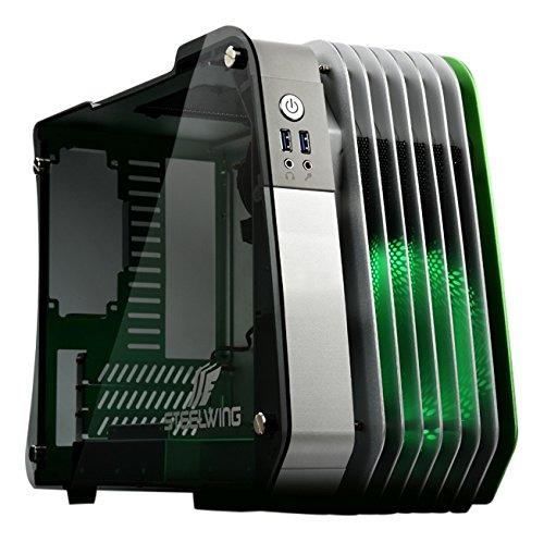 Enermax steelwing ecb2010g micro-tower Verde, colore: bianco-scatola di PC