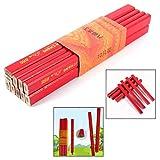 Xrten 10 Pcs Lápices de Carpintero, Color Rojo