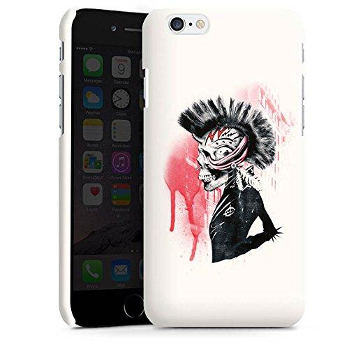 Apple iPhone X Silikon Hülle Case Schutzhülle Punk Totenkopf Skull Premium Case matt
