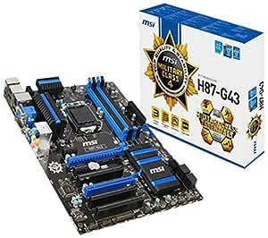 MSI H87-G43 Carte mère Intel ATX Socket 1150