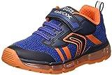 Geox Jungen J Android Boy A Sneaker, Blau (Navy/Orange C0659), 25 EU