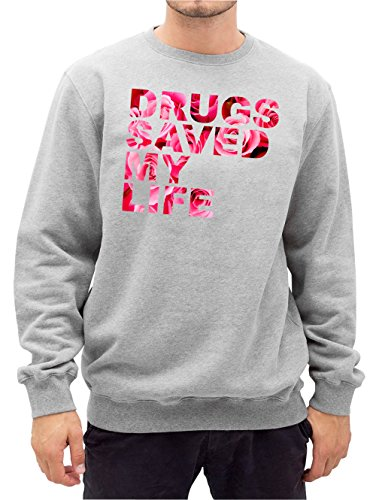 drugs-saved-my-life-roses-sweater-gris-certified-freak-l