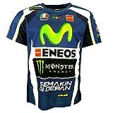 Valentino Rossi VR46 M1 Yamaha Racing Team Moto GP Replica T-shirt officiel 2016