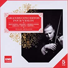 Grands Concertos pour Violon - Beethoven, Brahms, Mendelssohn, Sibelius, Bruch, Bartok...