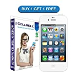 Cellbell Tempered Glass Screen Protector For Apple Iphone 5 5S 5C