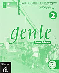 Gente 2 : Libro de trabajo (1CD audio)