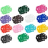 [ Kostenlose Lieferung - 7-12 Tage] 150pcs Harz schnappen Knöpfe 15 Farben BML® // 150Pcs Resin Snap Buttons 15 Colors