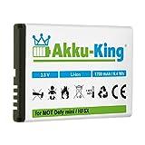 Akku-King - Batteria per Motorola Defy mini/Defy plus - sostituita HF5X Li-Ion 1700mAh
