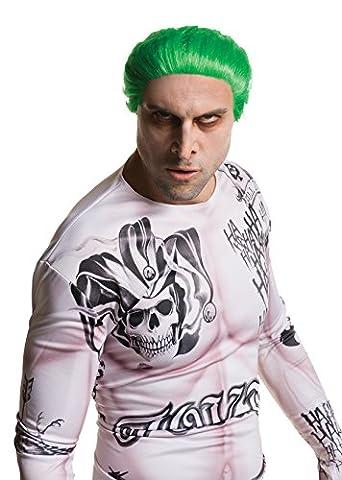 Rubie's officielle Le Joker Perruque femme homme Déguisement Halloween méchant Suicide Squad Costume