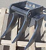 Roder echen, raíz Rastrillo, Excavadora 0,30cm sin grabación en distintos gößen wählbar 30-150cm