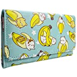 Bananya Anime Banana Cat Blau Portemonnaie Geldbörse - Best Reviews Guide