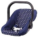Bayer Design 67851AA - Puppen-Autositz dunkelblau - auch für Größere Puppen Geeignet