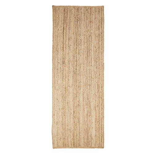 Hochwertiger, handgewebter Naturfaser, wendbar, strapazierfähig, geflochtener Jute-Teppich Modern 2' 6