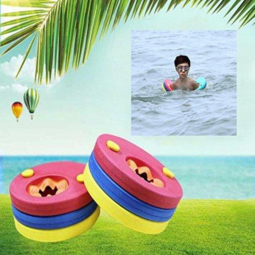 Igemy Lot de 6 Disques de bain de natation de flotteur en mousse EVA pour la natation bébé pour enfants NEUF