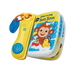 VTech Baby Splash and Sing Bath Book - Multi-Coloured