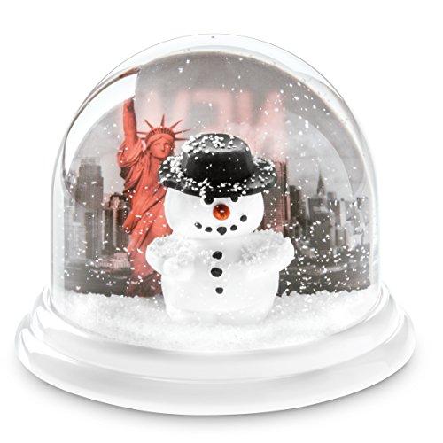 Koziol Traumkugel Maxi New York, thermoplastischer Kunststoff, weiß mit weiß, 12,7 x 12,7 x 10,3 cm