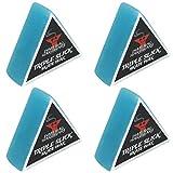 Dime Bag Hardware - Cera para Skateboard Triple con Aroma a Skate (4 Unidades), Azul (Arándano)
