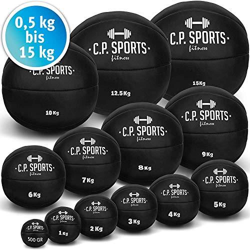 C.P.Sports K5 - Balón Medicinal de Piel
