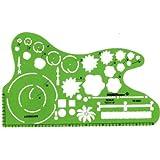 Alvin TD5351 Landscape Design Template