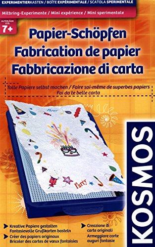 Mitbring-Experimente: Papier-Schöpfen