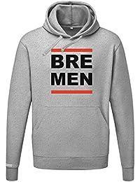 BRE MEN - Bremen - Herren Hoodie Kapuzenpullover