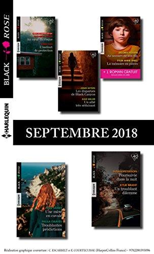 10 romans Black Rose + 1 gratuit (n° 495 à 499 - Septembre 2018) (French Edition)
