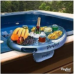 Neue aufblasbare Schwimmende Spa Bar Pool Whirlpool Seite Tablett für Lebensmittel Getränke Snacks