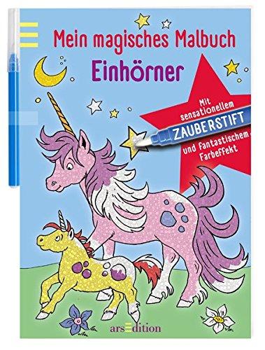 Mein magisches Malbuch Einhörner