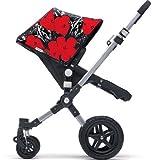 Bugaboo Cameleon 3 Bekleidungsset - Andy Warhol Flower (Special Edition) für Kinderwagen Buggy 2 tlg. Fabric Set