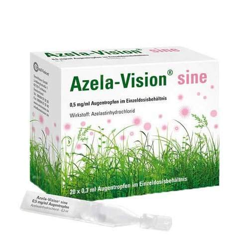 Azela-vision sine 0,5 mg/ 20X0.3 ml