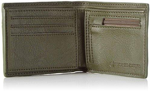 Element Herren Daily Wallet Geldbörse, 1x7x9 cm Grün (Surplus)