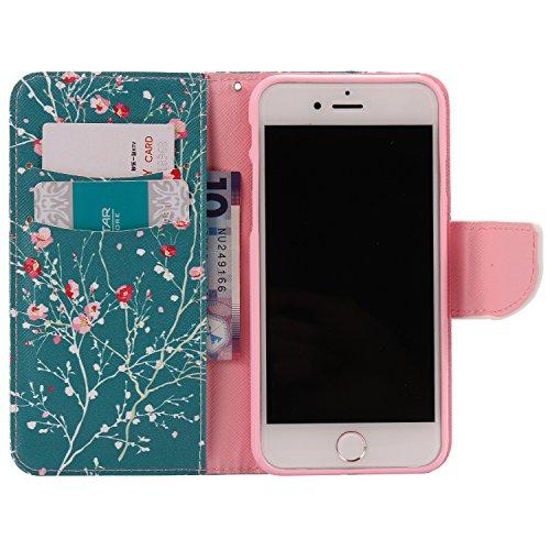 Meet de pour Apple iphone 7 Soft TPU, Apple iphone 7 Protection Etui Souple Flexible Coque TPU Silicone Soft Case, (Riche et coloré Designs) Housse / Case pour Apple iphone 7, Doux Silicone Bumper Cas A012