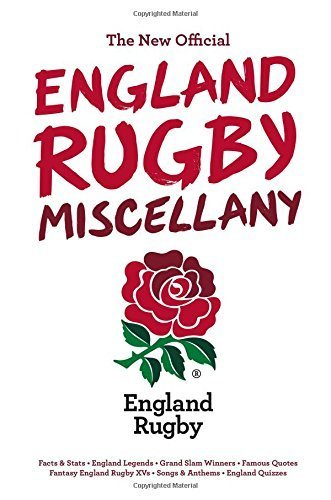 The England Rugby Miscellany by Chris Hawkes (2015-11-01) par Chris Hawkes