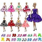 ZITA ELEMENT 5 Vestito e 5 Scarpe per Bambola 28-30cm Vestiti e Accessori - Stile Casuale