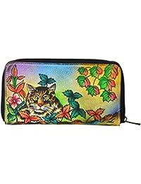 LEATHER MADE Women's Wallet (Multi-Coloured, EG0200.01)