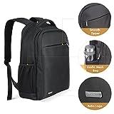 Prasacco Laptop Mochila Hombre Business Backpack 15,6Portátil Mochila Outdoor para Viaje Senderismo 18L