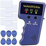 125KHZ RFID ID Carte UID Writer/Copieur Duplicateur Home Security System de Controle d'accès Programmeur + 6pcs Cartes d'identité Enregistrables + 6pcs Kit d'étiquettes d'identification