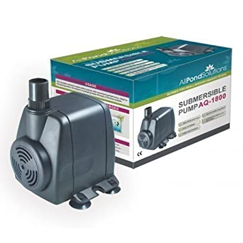 Submersible Aquarium Water Pump 1800 Litres per Hour: Amazon.co.uk ...