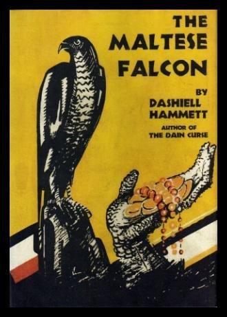 Book cover for The Maltese Falcon