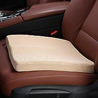 KANGYANLONG Autositzkissen Memory-Kissen Fahrersitzkissen Gepolstertes Sitzpolster Universal-Polyesterfaser/Polyester/Pet preisvergleich bei kinderzimmerdekopreise.eu