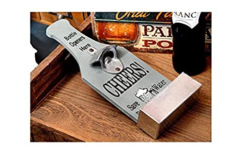 Beauqueen Personality Beer Creative Opener Band Incorporated Bar Retro Decorations Pendant Restaurant Cafe Wall Decoration , ash
