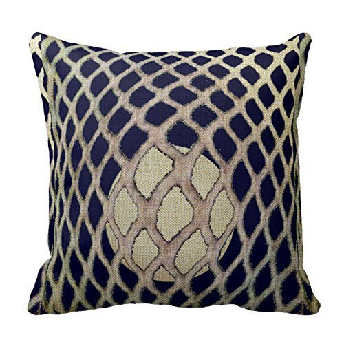 Decorative goods Cotton Linen 18 x 18inch Awesome Lacrosse Gifts Throw Pillow Cover -
