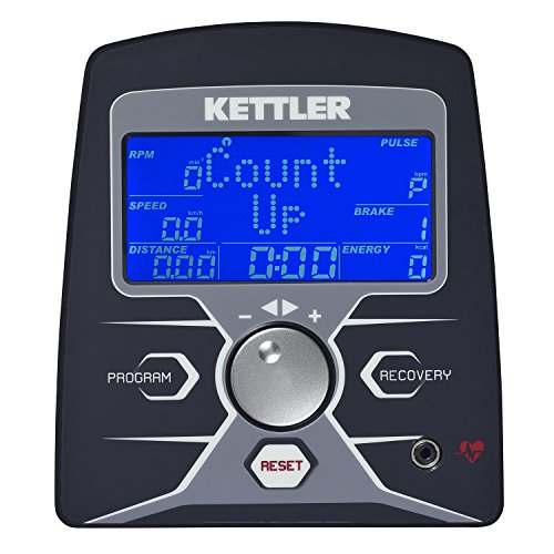 Kettler Heimtrainer Fahrrad AXOS Cycle P-LA – Farbe: Grau – das ideale Hometrainer Fahrrad – Artikelnummer: 07629-500 - 3