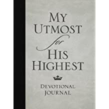 My Utmost for His Highest Devotional Journal