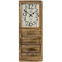 Reloj de Pared en Madera Rústica Alto ...