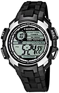 Calypso watches Jungen-Armbanduhr Digital Quarz Plastik K5595/1