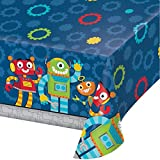 Unbekannt Tischdecke * LUSTIGE ROBOTER * als Deko für eine Mottoparty oder Kindergeburtstag//Party Geburtstag Robots Table Cover