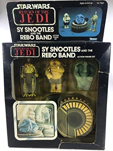 Star Wars Vintage AFA Box Set Return Of The Jedi SY snootles und die Rebo Band afa80y